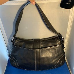 Coach Bags - Coach Soho Hobo Black Leather Buckle Shoulder bag